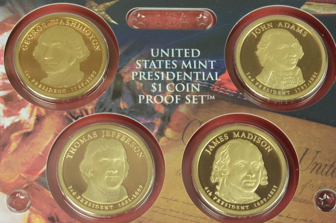 U S United States Mint Proof Set Presidential One