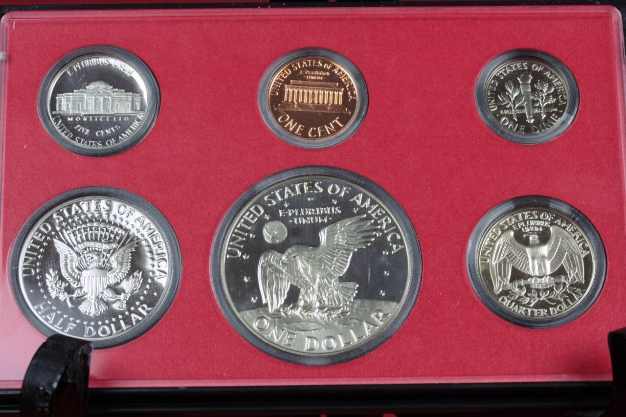 United States Proof Set 6 U S Mint Coins Slabbed W