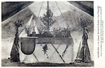 Chapelle sous tente à Barèges