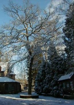 monastere-neige
