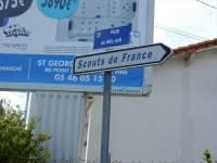 panneau rue SdF
