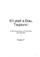 """""""S'il plaît à Dieu, toujours !"""" (section 6 : ordre)"""