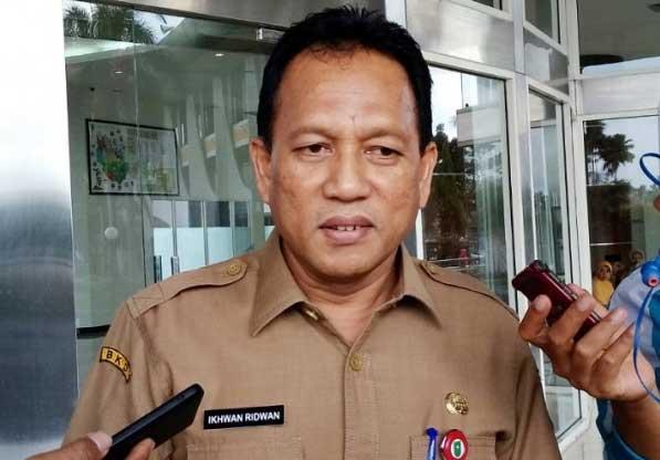 Kepala BKD Provinsi Riau Ikhwan Ridwan.