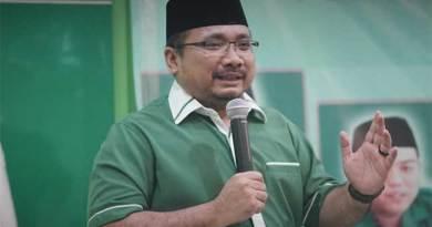 Ketua Umum GP Ansor, Yaqut Cholil Qoumas