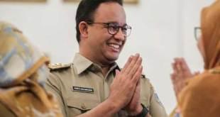 Gubernur DKI Jakarta Anies Baswedan paling populer untuk Pilpres 2024 berdasarkan survei.