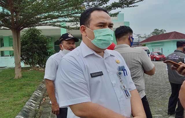 Sekretaris Dinas Kesehatan Kota Pekanbaru, Zaini Rizaldy