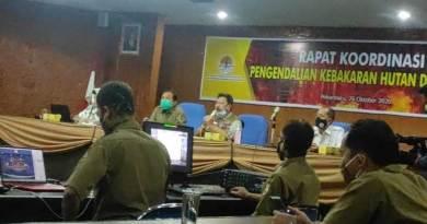 Kepala BPBD Riau, Edwar Sanger