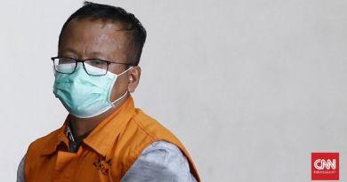 Mantan Menteri KKP Edhy Prabowo ditahan KPK