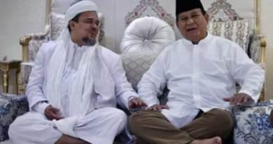 Prabowo Subianto menemui Habib Rizieq Shihab