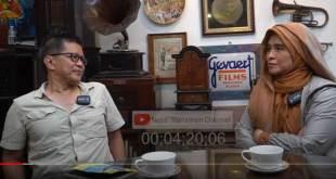 Rocky Gerung saat tampil di kanal Youtube Neno Warisman.