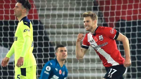 Southampton raih kemenangan atas Newcastle United