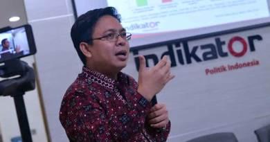Direktur Eksekutif Indikator Politik Indonesia, Burhanuddin Muhtadi