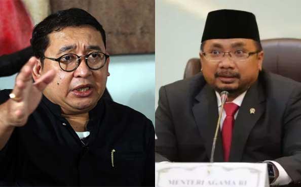 Fadli Zon Tantang Menteri Agama Yaqut Cholil Qoumas
