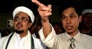 Munarman bersama Habib Rizieq Shihab