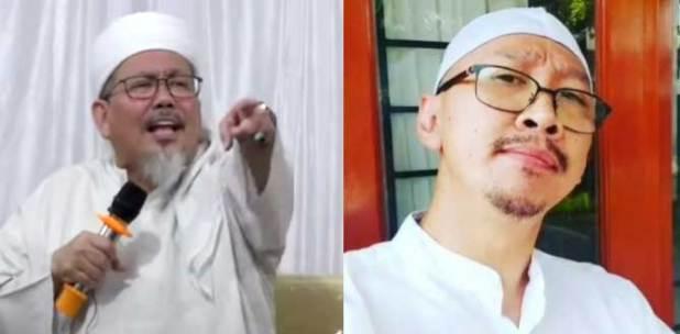 Ustaz Tengku Zulkarnain dan Permadi Arya alias Abu Janda.