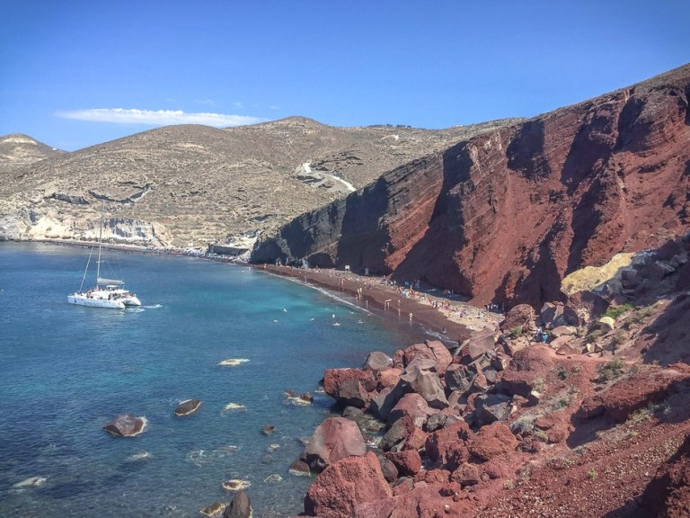 The Red Beach - Santorini - Greece