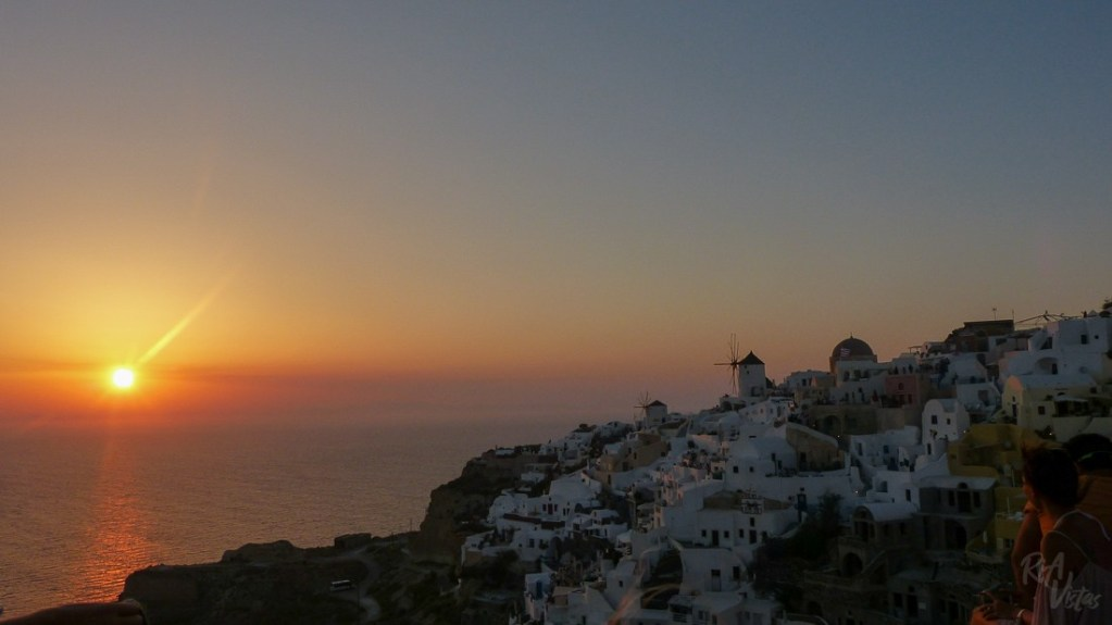 Sunset Santorini bliss