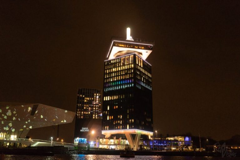 A'DAM Lookout at night