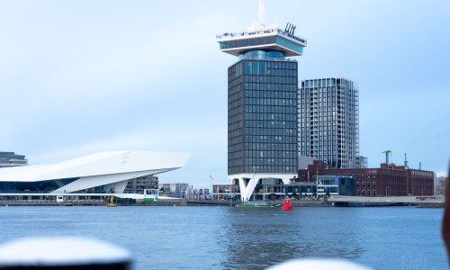 An evening of panoramic views at A'DAM Lookout, Amsterdam