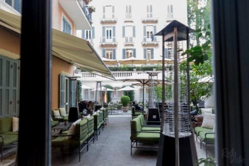 Hotel De Russie - garden patio