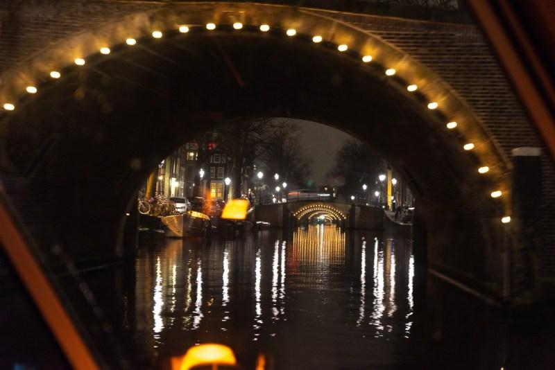 Amsterdam canal cruise - 7 bridges