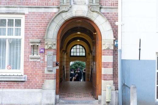 Outside Begijnhof