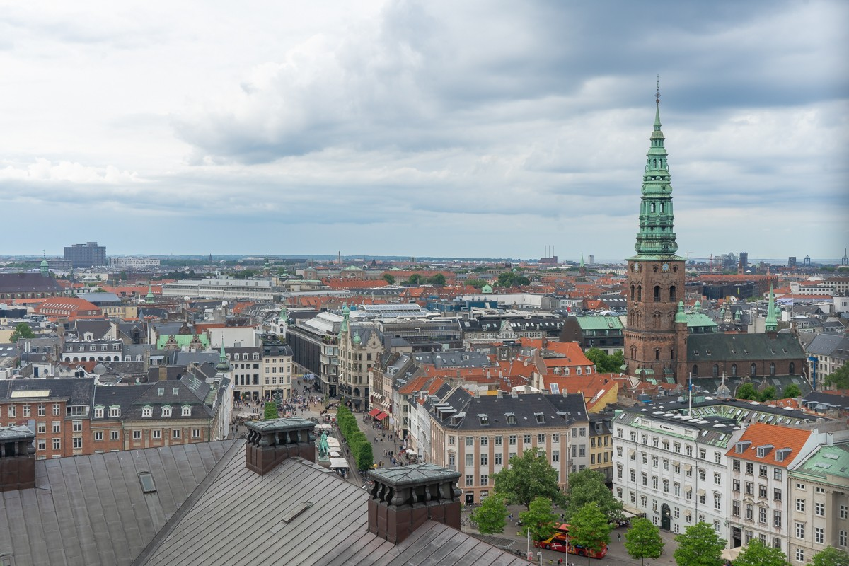 View from The Tårnet - Copenhagen