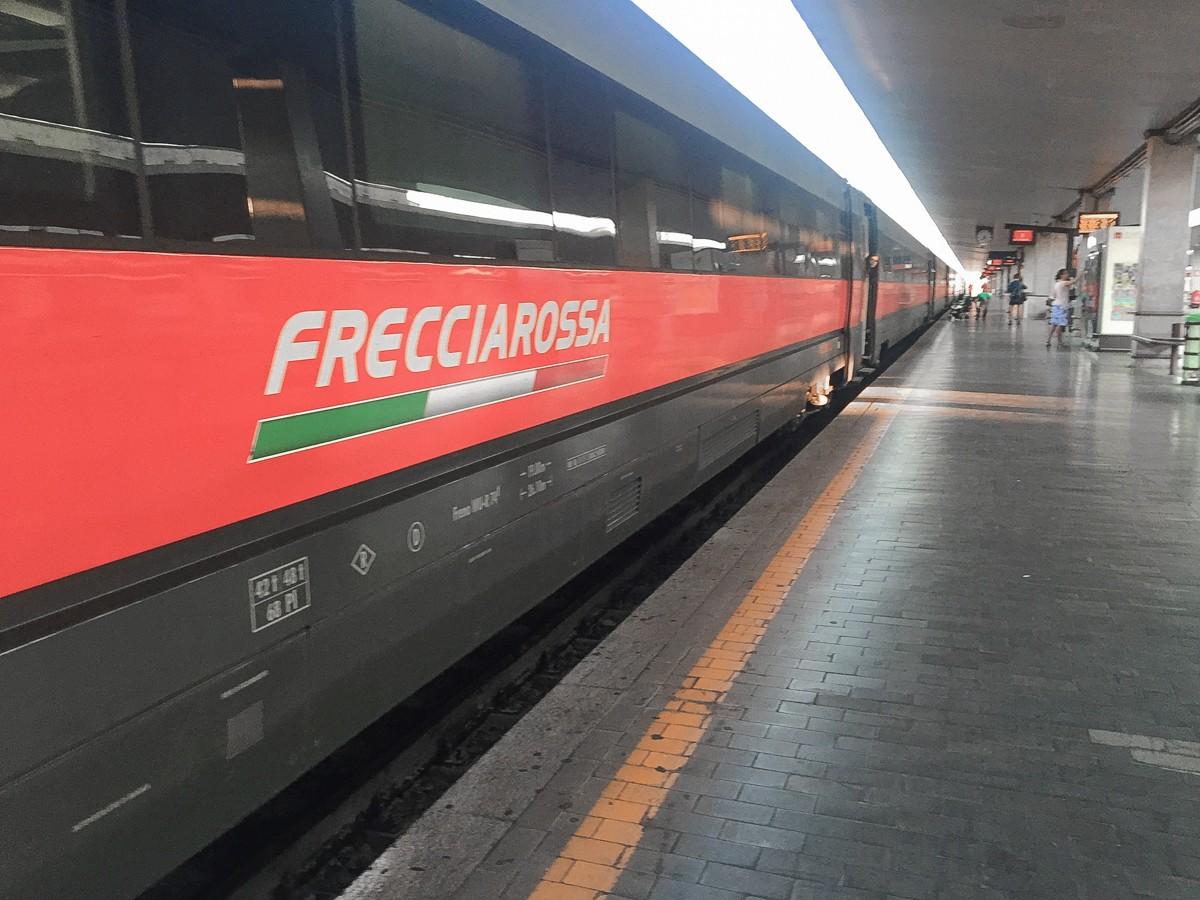 Italy Frecciarossa train