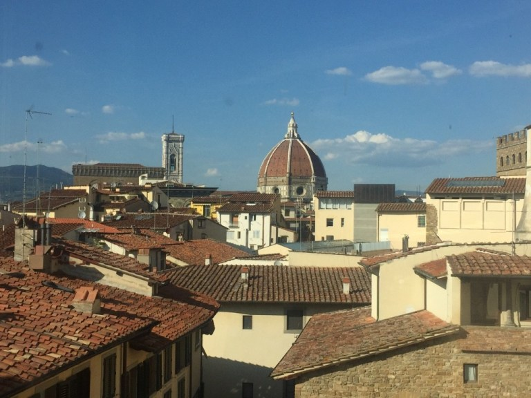 Peaking Duomo Florence