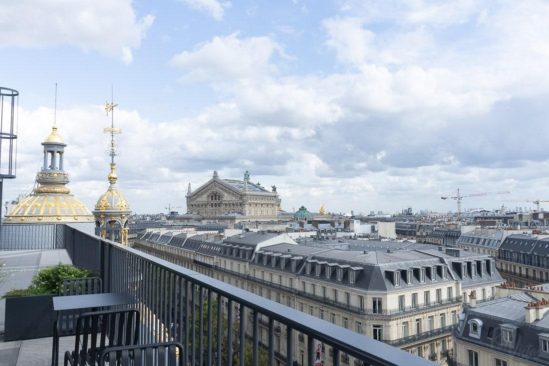 Galeries Lafayette - Haussmann Terrace Paris