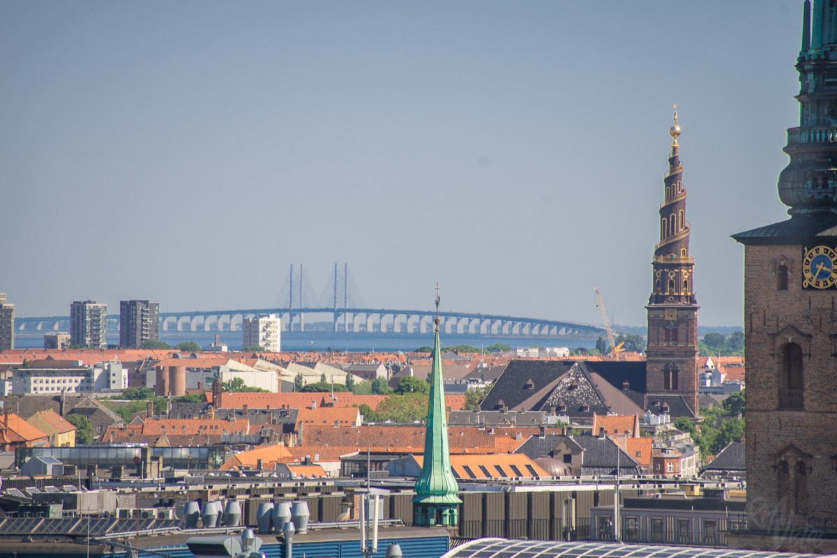 City views from The Round Tower - Copenhagen