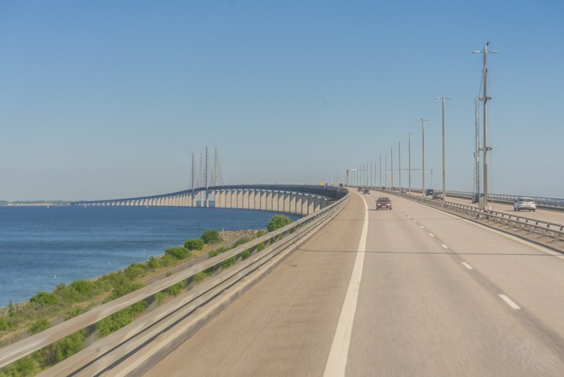 Approaching Øresund