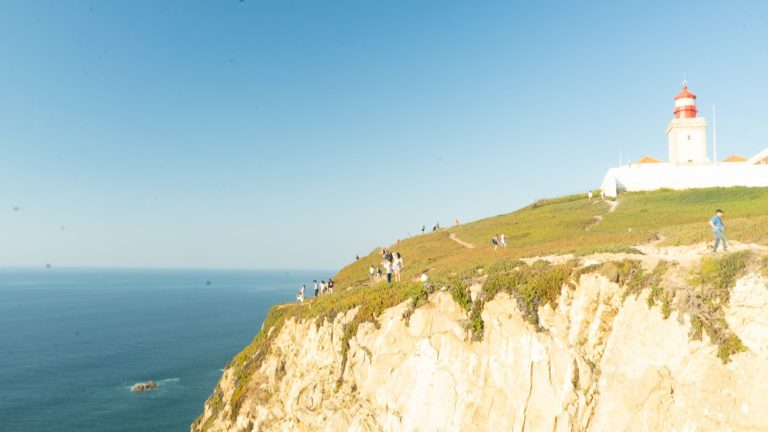 Cabo da Roca - over the edge