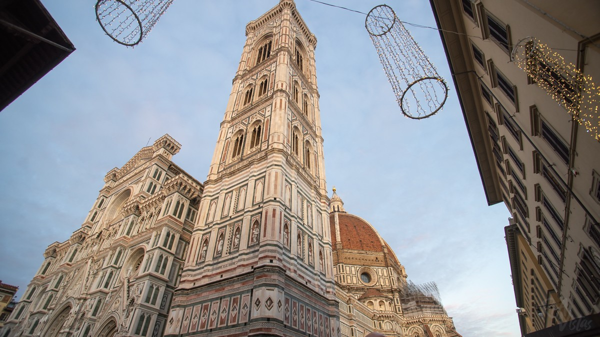 Outside the Duomo - Florence, Italy