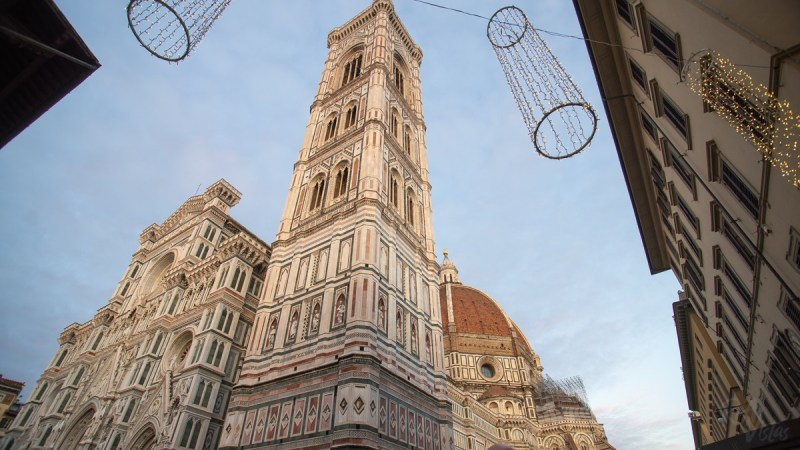 Outside the Duomo Florence Dec 2018