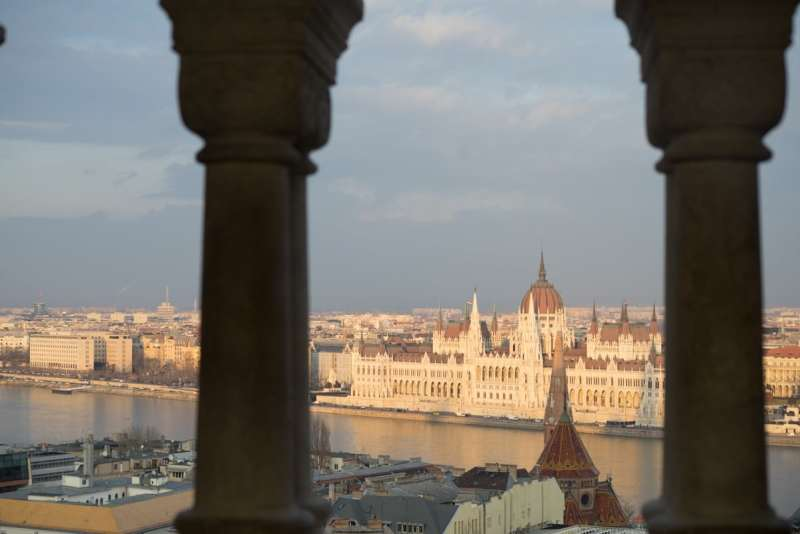 Hungarian Parliament_Fishermans Bastian - Budapest Jan 2018