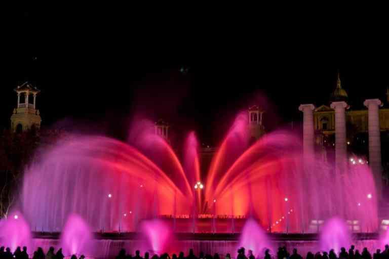 Majic Fountain Barcelona