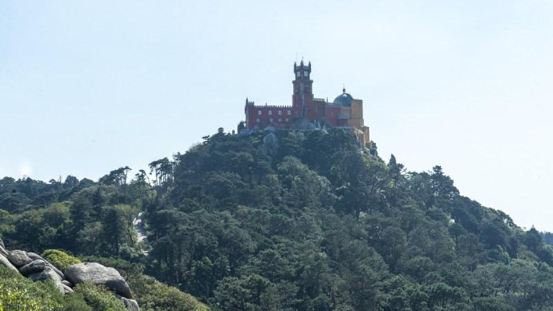 Moorish Castle - view of Pena