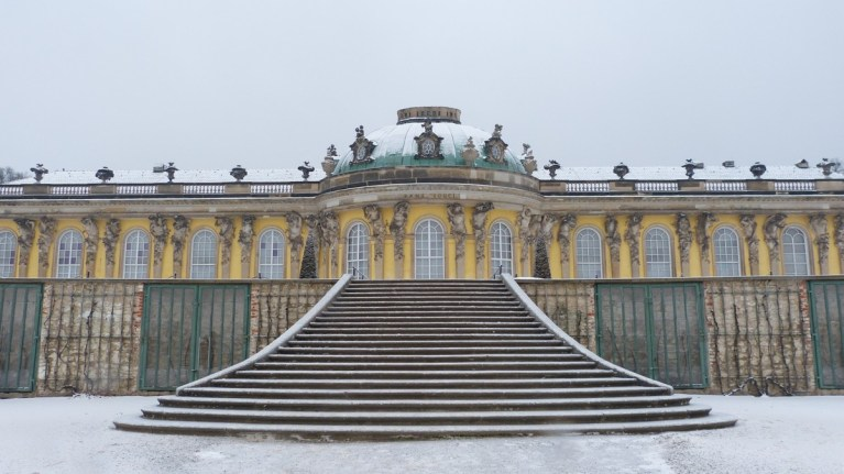Sanssouci Palace -Berlin Jan 2017