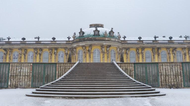 Sanssouci Palace -Berlin Jan 2017