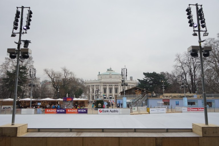 Vienna Ice skating rink Feb 2018