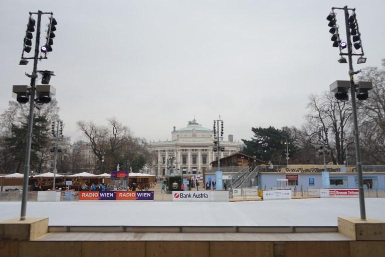 Vienna Ice skating rink Feb 2018