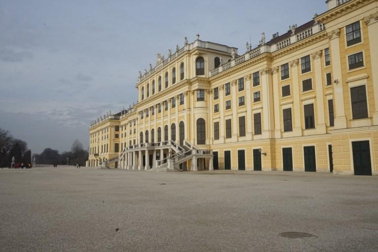 Vienna Schönbrunn Palace Feb 2018