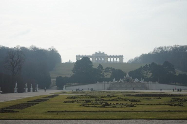 Vienna Schönbrunn Palace - Gloriette Feb 2018