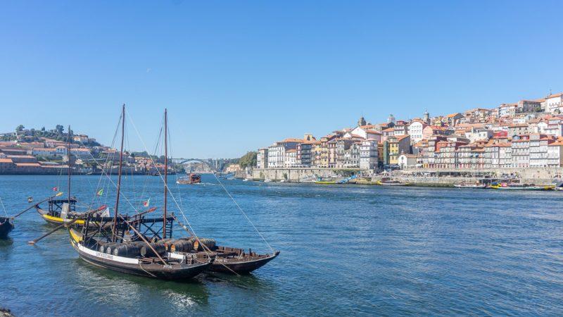 View from Villa Nova Gaia - Porto, Portugal