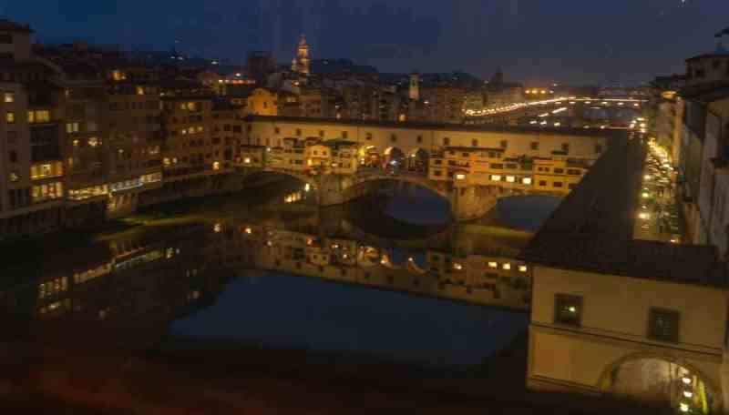 From inside Uffizi Gallery_Florence