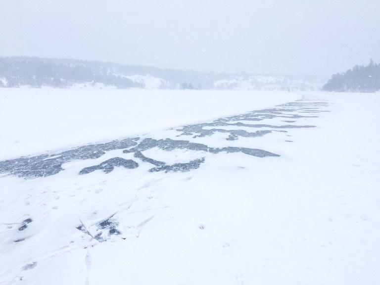 Hellasgården - lake track