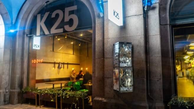 K25 food hall in Stockholm