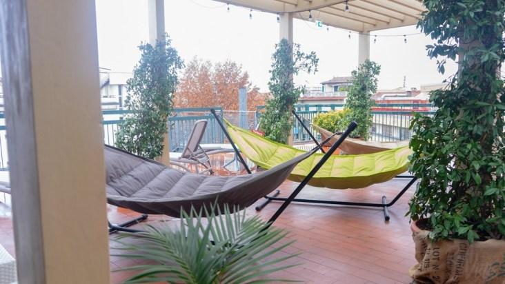 Plus Florence Terrace - hammocks