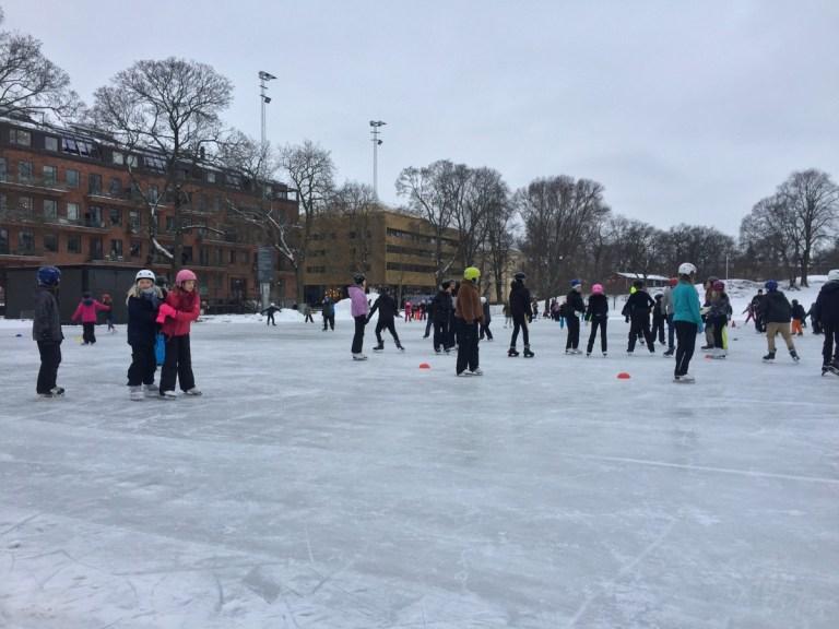 Vasaparken ice rink - Stockholm